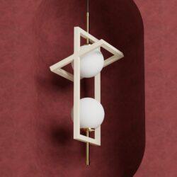 Candeeiro de tecto Acrobate II